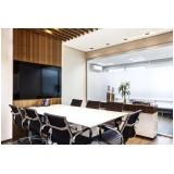 espaço de coworking com sala de reunião em sp em Taboão da Serra