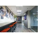 espaço para reuniões compartilhadas