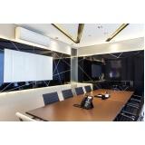 espaço para reuniões completo no Aeroporto