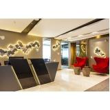 espaço para reuniões de negócios no Centro