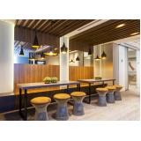 espaço para reuniões inteligentes na Mooca