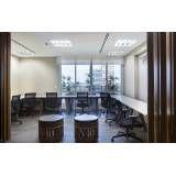 Locação de escritório para reunião