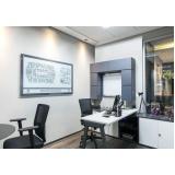 sala de reunião completo para locação em sp na Sé