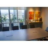 Sala para treinamento corporativo com preço acessível no Centro