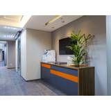 Sala para treinamentos corporativos onde encontrar em Santa Cecília