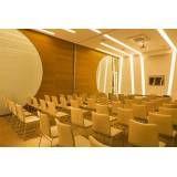 Salas para eventos corporativos preço em Louveira